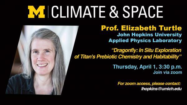 CLASP Seminar Series: Prof. Elizabeth Turtle