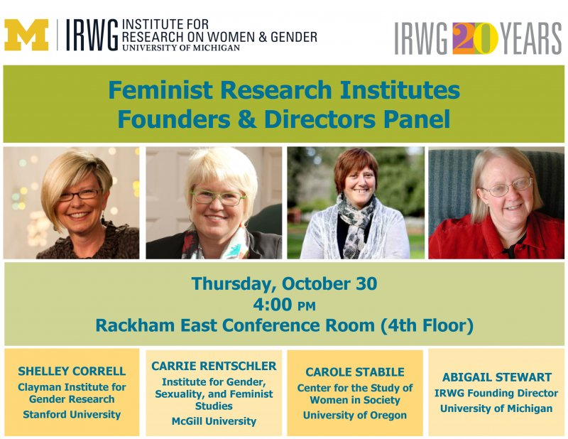Institute for research on women gender and sexuality