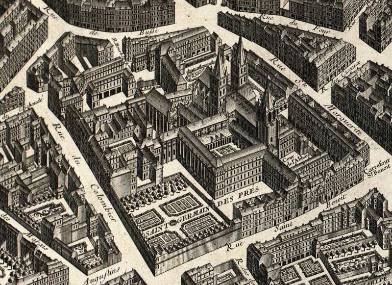Early Modern Maps Of Paris A History Of Measures And - Modern map of paris