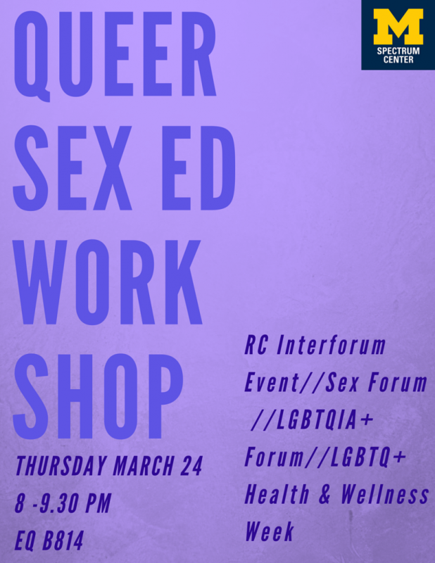 Sex in a workshop