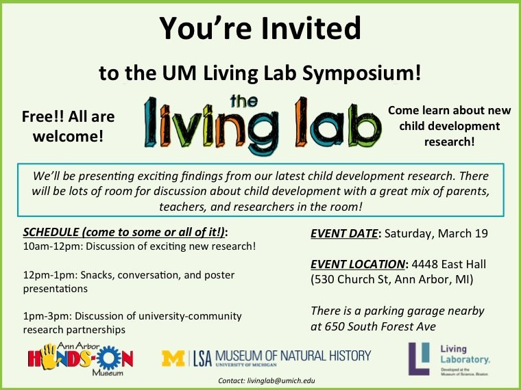 Living Lab Symposium Happening Michigan