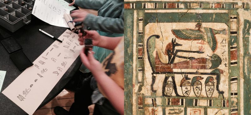 egyptian hieroglyph discovery happening michigan