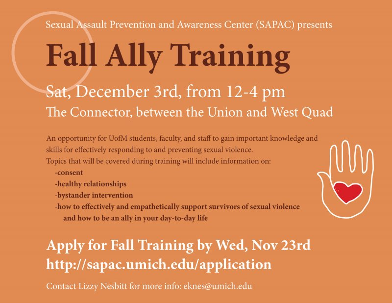 Ally Training | Happening @ Michigan