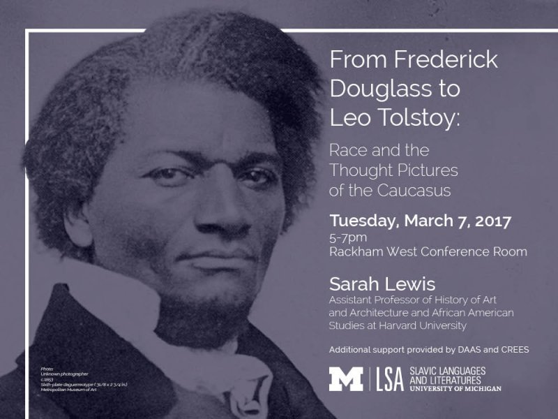 from frederick douglass to leo tolstoy race and the thought