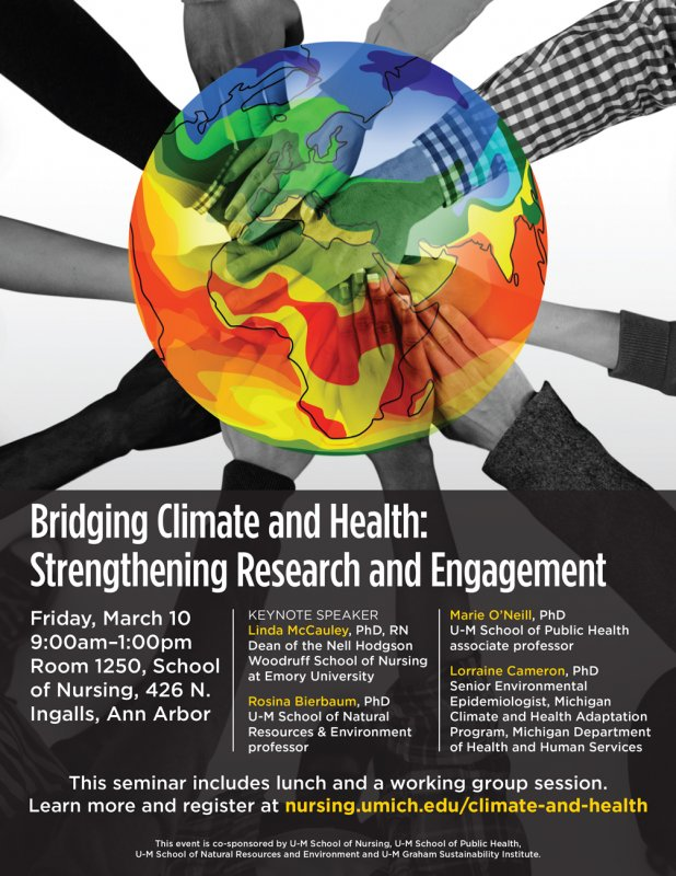 Climate Change And Health Seminar Series  Happening  Michigan