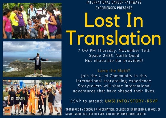 Expired) Lost in Translation | Happening @ Michigan