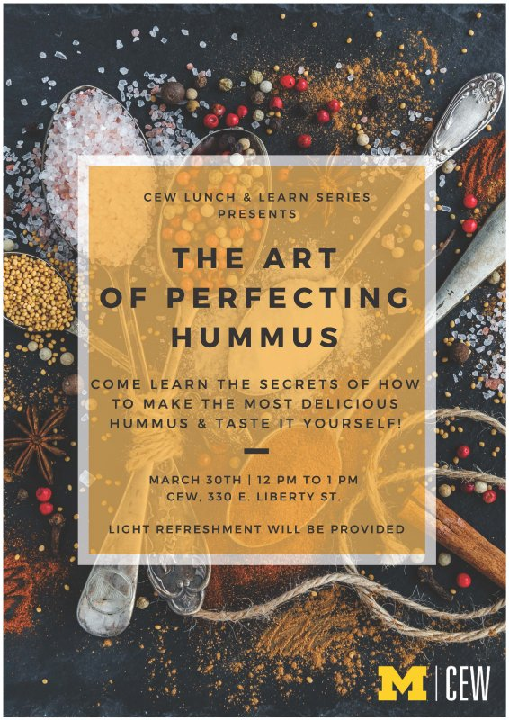 Lunch learn the art of perfecting hummus happening michigan lunch learn flyer lunch learn flyer solutioingenieria Image collections