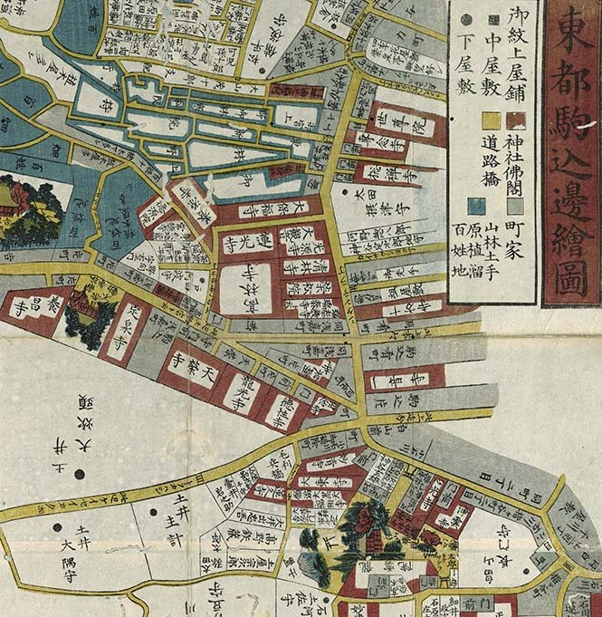 Unique Perspectives Maps From Tokugawa Meiji Japan Happening