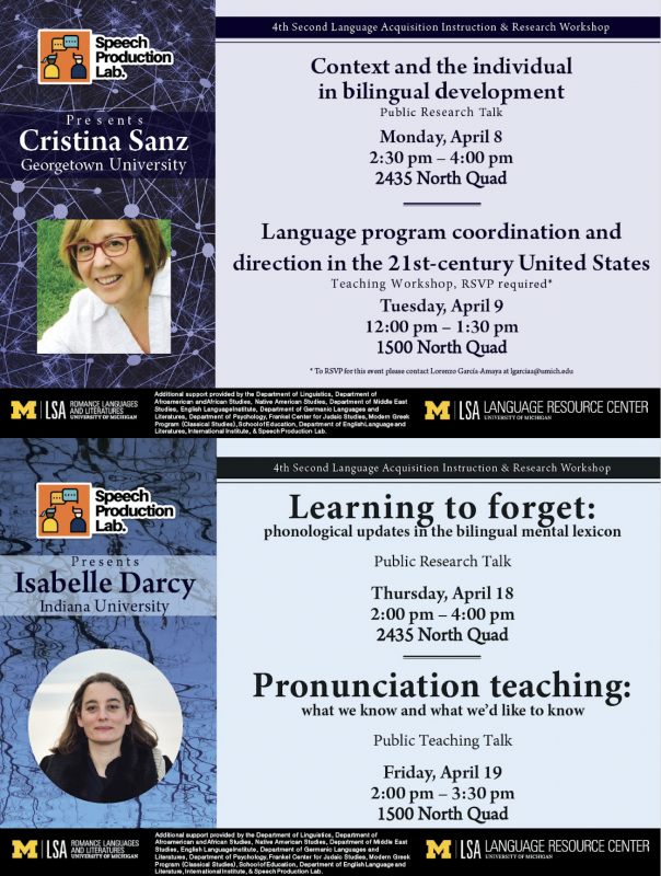 4th Second Language Acquisition Instruction & Research Workshop