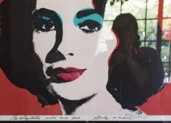 Catherine Opie, Andy Warhol to Elizabeth (Self-Portrait Artist) from the 700 Nim