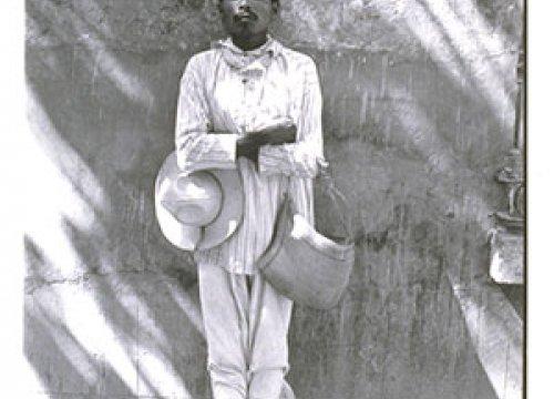 Manuel Álvarez Bravo. The Man from Papantla (Señor de Papantla), 1977. The Unive