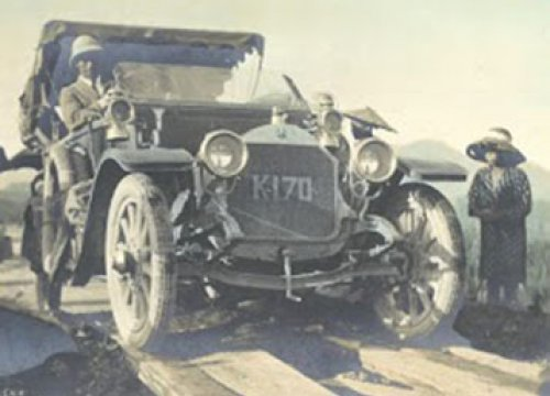 From Motor Days in Japan, 1917. Part of the Transportation History Collection.