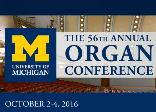 56th Annual Conference on Organ Music Recital: Department of Organ Students