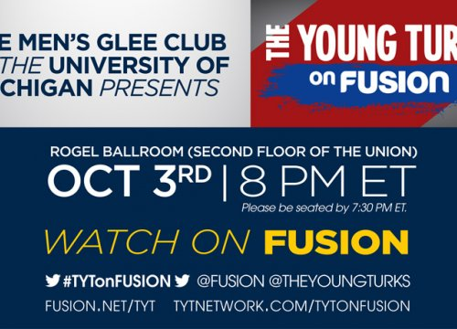 Men's Glee Club presents The Young Turks on FUSION