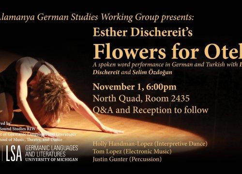 Flowers for Otello digital poster