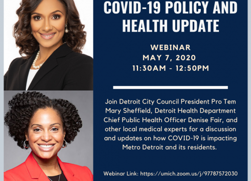 (Expired) VIRTUAL EVENT: Metro Detroit COVID-19 Policy and ...